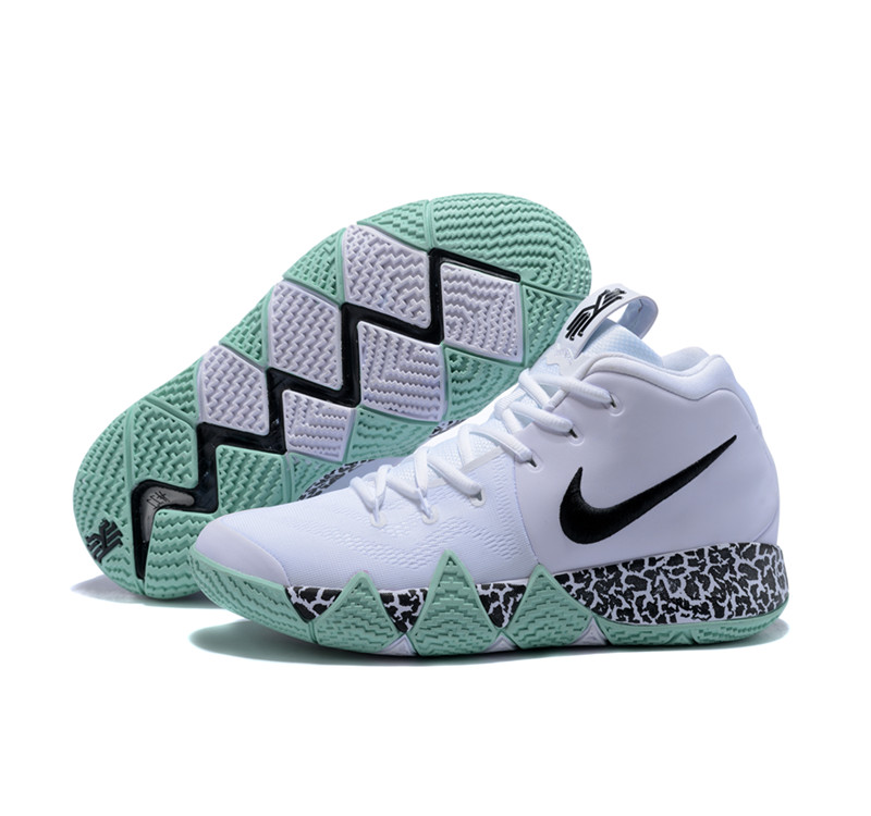 New Nike Kyire 4 Green White